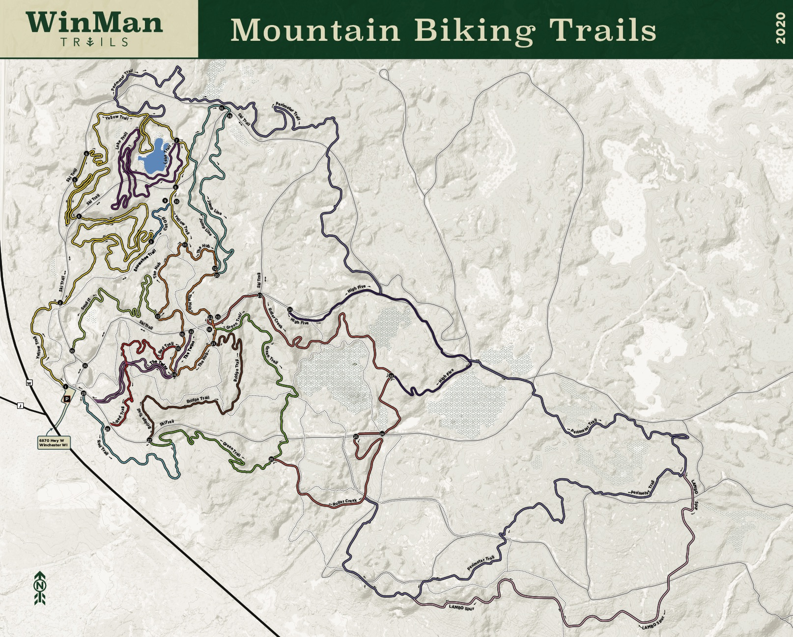 Mountain Bike Trails (2020)