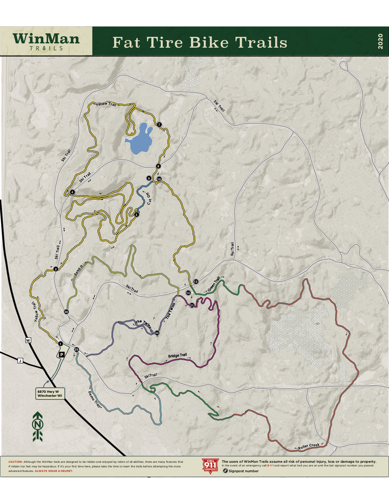2020 WinMan Mountain Fat Bike Trails