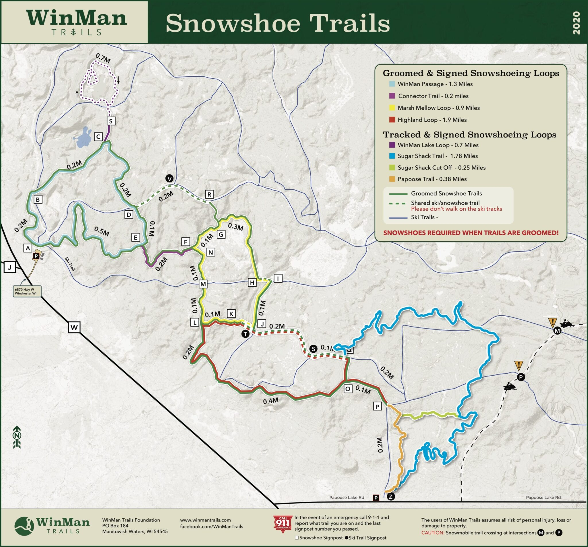 2020 WinMan SnowShoe Trails 2.0