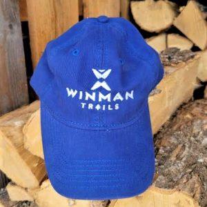 blue canoe hat